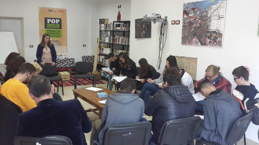 Fokus grup në Njësinë Administrative Bathore, Kamëz.