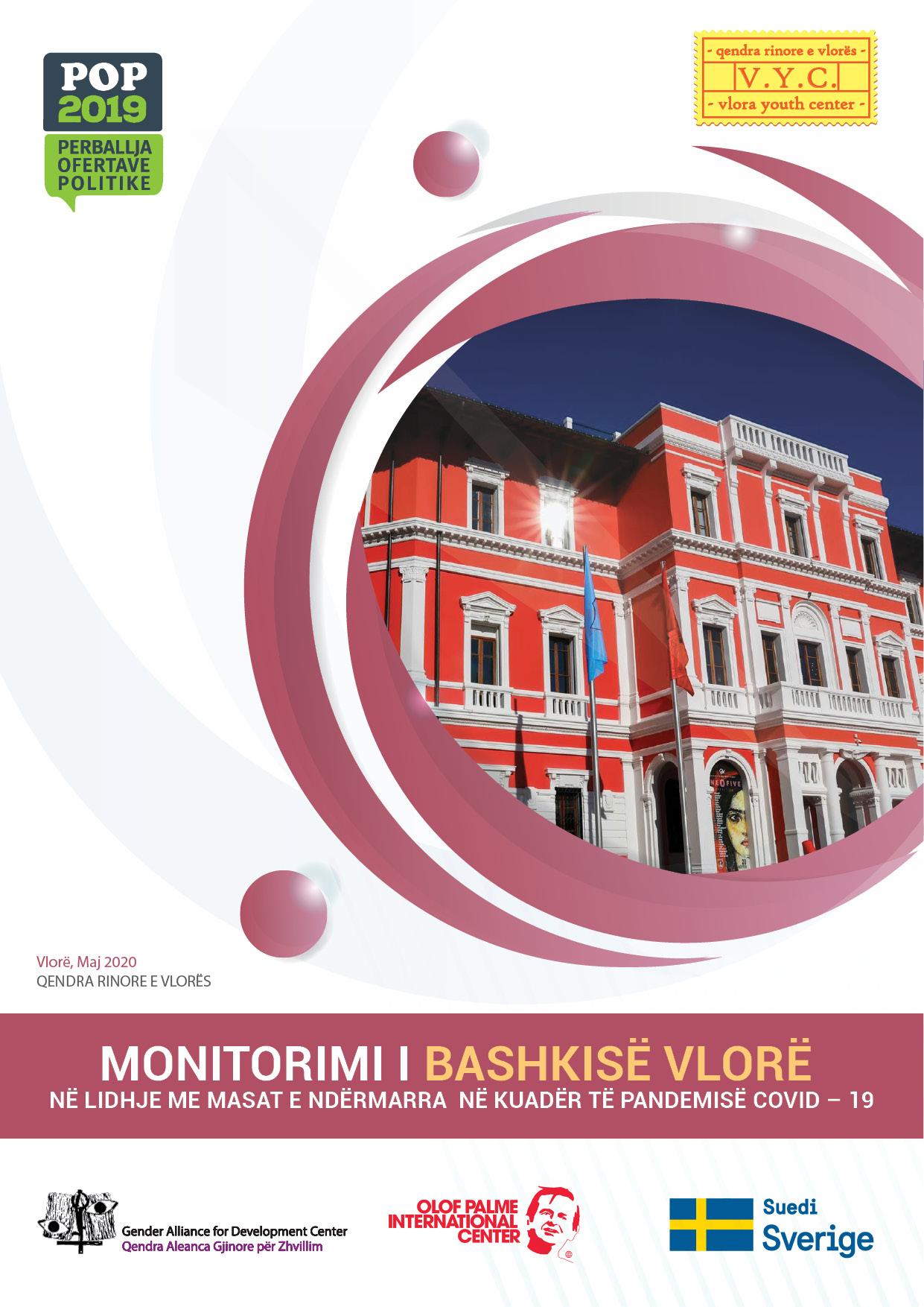 Raporti i Monitorimit Bashkia Vlorë