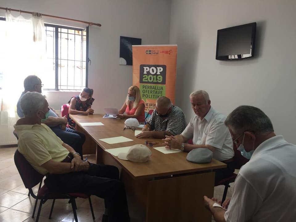 Takime me komunitetin e bashkisë Tiranë