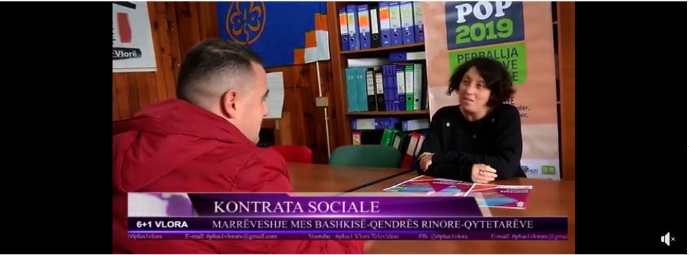 POP në 6+1 TV në Vlorë
