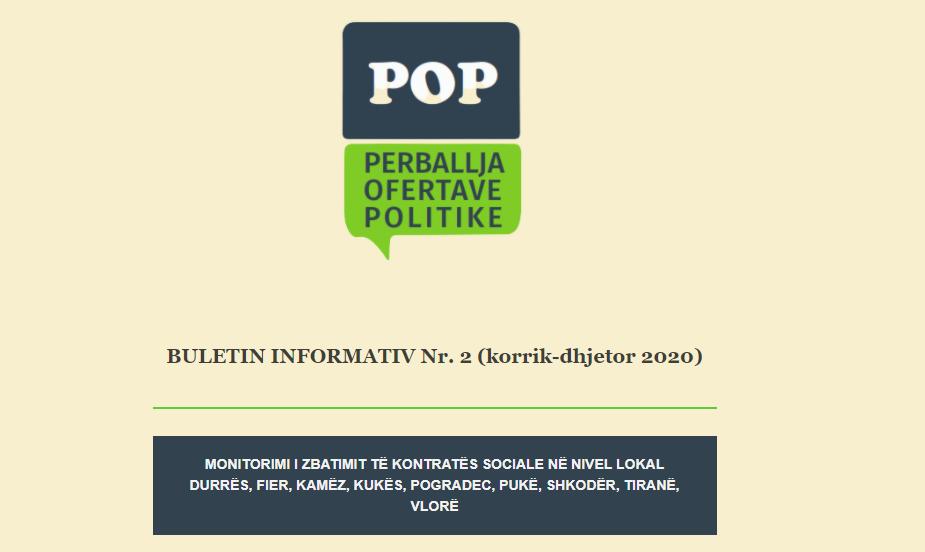 BULETIN INFORMATIV Nr. 2 (korrik-dhjetor 2020)