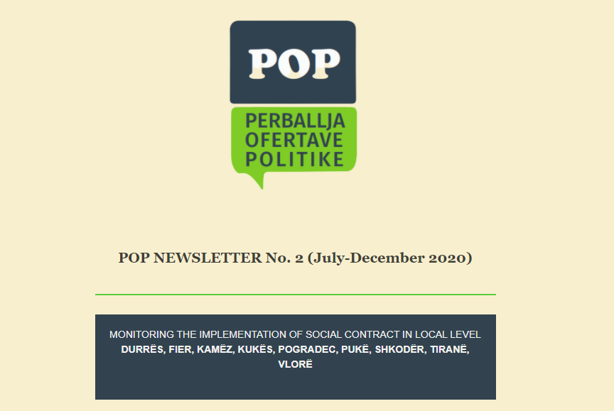 POP NEWSLETTER No. 2 (July-December 2020)