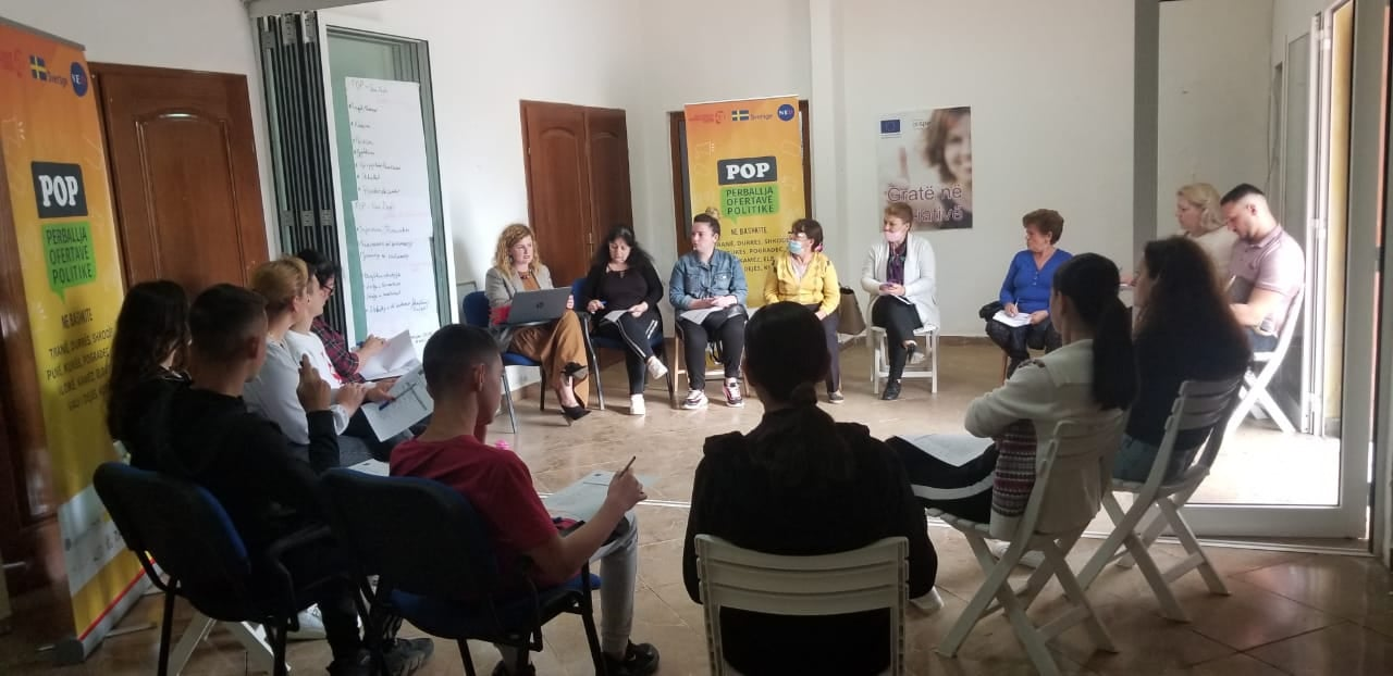 Takim i fokus-grupit të parë në Bashkinë Vau i Dejës