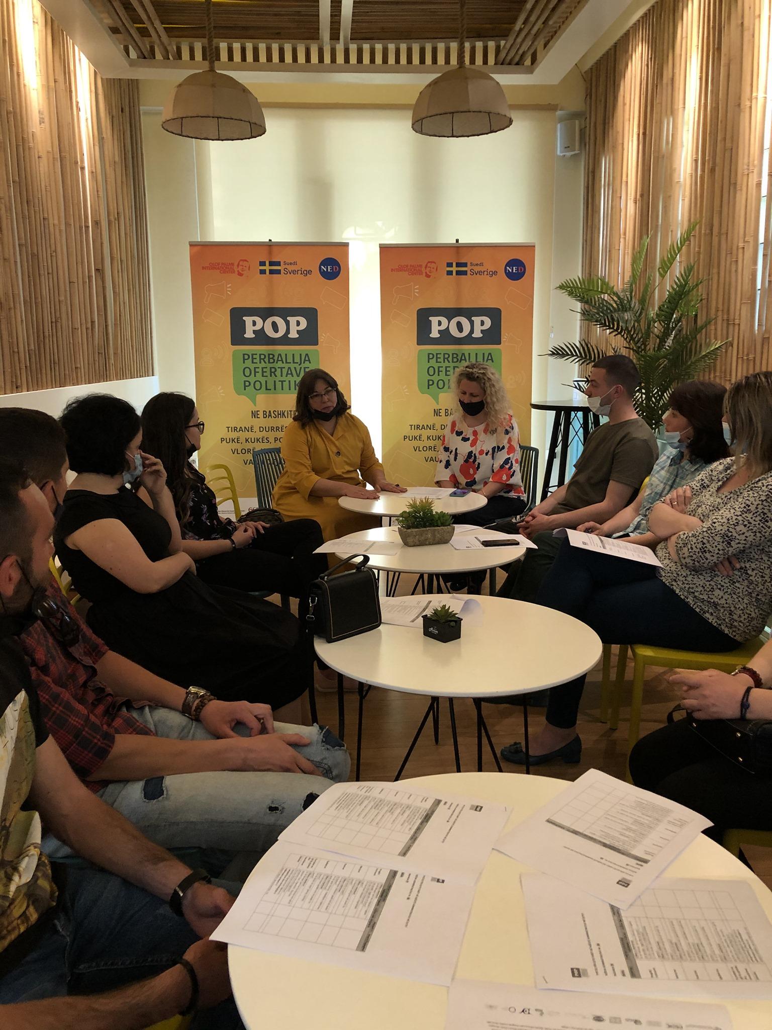 POP – Përfundojnë takimet me fokus-grupet në Korçë