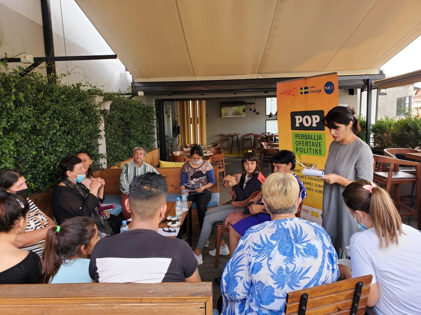POP – Takim me fokus-grupet e Njësisë Administrative nr.3, Bashkia Tiranë. Monitorimi i Kontratës Sociale.